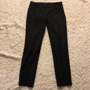 Theory Black Skinny Wool Blend Dress Pants Size 2